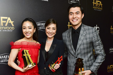 Michelle Yeoh Henry Golding 22nd Annual Hollywood Film Awards - Press Room