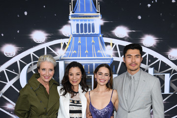 Michelle Yeoh Henry Golding Universal Pictures Presents The Premiere Of Last Christmas