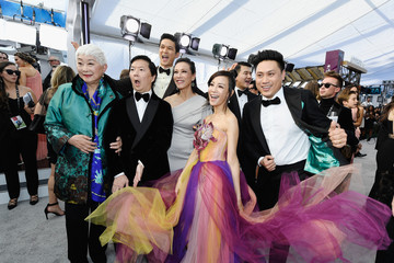 Michelle Yeoh Ken Jeong 25th Annual Screen ActorsGuild Awards - Red Carpet