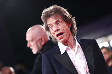 Mick Jagger 'The Burnt Orange Heresy' Red Carpet Arrivals - The 76th Venice Film Festival