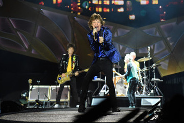 Mick Jagger Charlie Watts The Rolling Stones North American 'Zip Code' Tour - Pittsburgh