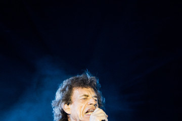 Mick Jagger The Rolling Stones In Concert - Miami, FL