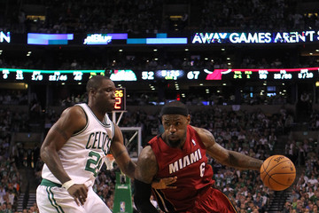 Mickael Pietrus Miami Heat v Boston Celtics - Game Six
