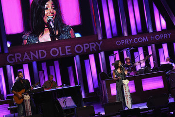 Mickey Guyton Opry Goes Pink