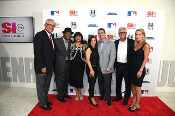 Mickey Rivers Andrew Levy Sports Illustrated Hosts Screening Of '14 Back'