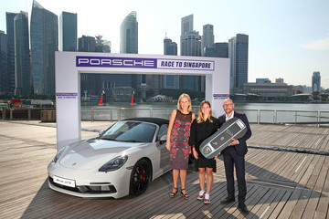 Micky Lawler BNP Paribas WTA Finals Singapore Presented By SC Global - Previews
