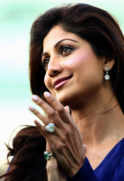 Shilpa Shetty Bollywood actress Shilpa Shetty during The British Asian Challenge Match played between Middlesex and The Rajasthan Royals at Lords on July 6, 2009 in London, England.