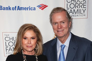 Kathy Hilton (L) and Richard Hilton attend the Midnight Mission 18th Annual Golden Heart Awards Gala at the Beverly Wilshire Four Seasons Hotel on October 4, 2018 in Beverly Hills, California.