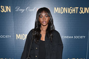 "Zuri Tibby attends the screening of ""Midnight Sun"" at The Landmark at 57 West on March 22, 2018 in New York City."