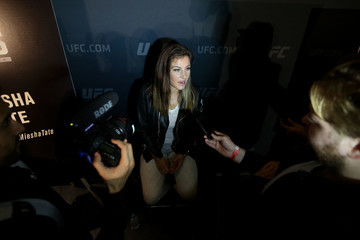 Miesha Tate UFC 205: Ultimate Media Day
