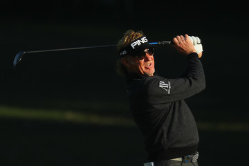 Miguel Angel Jimenez UBS Hong Kong Open - Day One