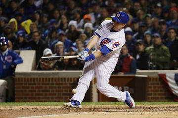 Miguel Montero World Series - Cleveland Indians v Chicago Cubs - Game Five