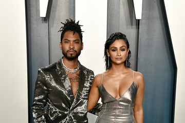Miguel 2020 Vanity Fair Oscar Party Hosted By Radhika Jones - Arrivals
