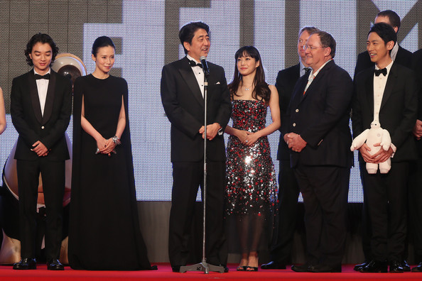Opening Ceremony at the Tokyo International Film Festival
