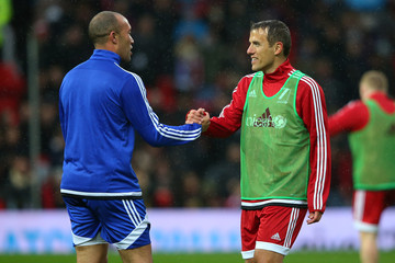 Mikael Silvestre David Beckham Match for Children in Aid of UNICEF