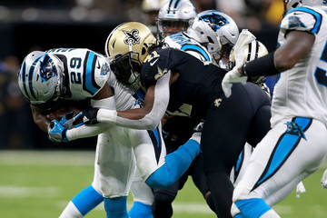 Mike Adams Wild Card Round - Carolina Panthers v New Orleans Saints