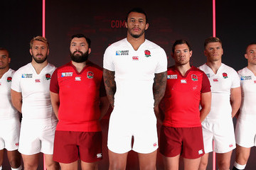 Mike Brown Alex Goode England Kit Launch