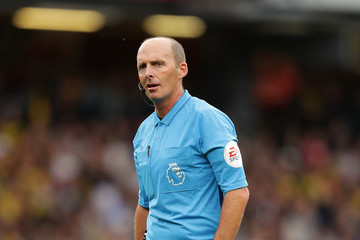 Mike Dean Watford FC vs. Manchester United - Premier League