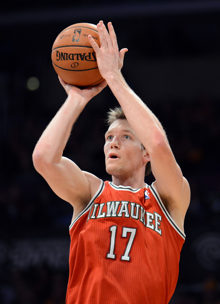 Mike+Dunleavy+Milwaukee+Bucks+v+Los+Ange