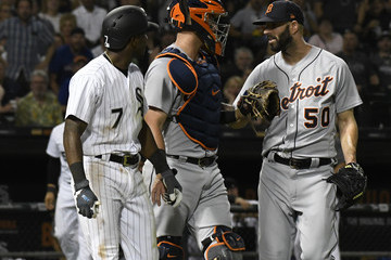 Mike Fiers Detroit Tigers vs. Chicago White Sox