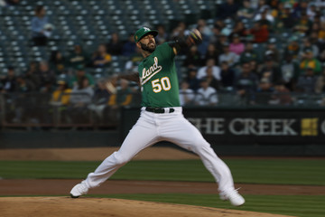 Mike Fiers Seattle Mariners vs. Oakland Athletics