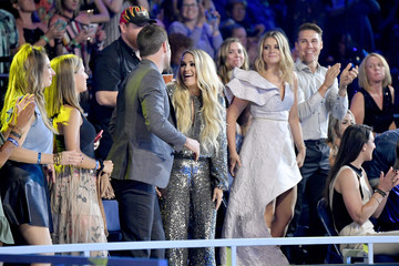 Mike Fisher Carrie Underwood 2018 CMT Music Awards - Show