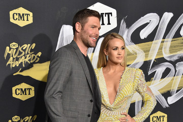 Mike Fisher Carrie Underwood 2018 CMT Music Awards - Arrivals