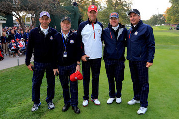 Mike Hulbert Ryder Cup - Day One Foursomes