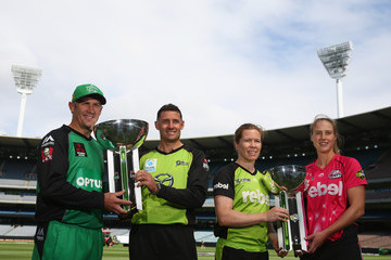 Mike Hussey Big Bash League Final Media Opportunity