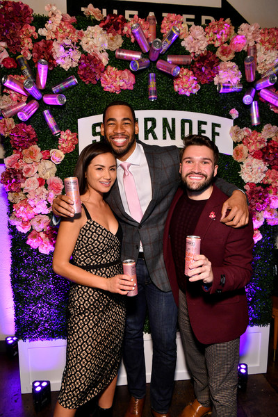 """Smirnoff And Mike Johnson Team Up To Launch New """"Will You Accept This Rosé?"""" Camapign"""