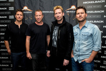 Mike Kroeger Nickelback Special Announcement and Live Performance
