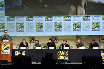 Mike Le The Screen Gems Panel at Comic-Con 2015