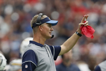 Mike McCoy San Diego Chargers v Houston Texans