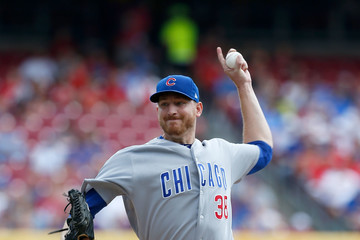 Mike Montgomery Chicago Cubs vs. Cincinnati Reds