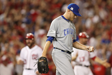 Mike Montgomery Divisional Round - Chicago Cubs v Washington Nationals - Game Two