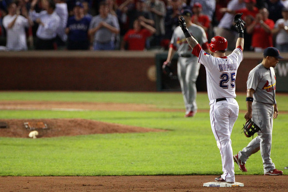 Mike+Napoli+2011+World+Series+Game+5+St+