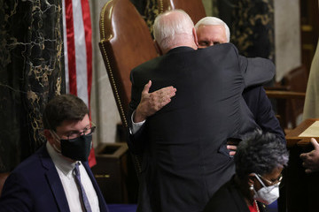 Mike Pence European Best Pictures Of The Day - January 07