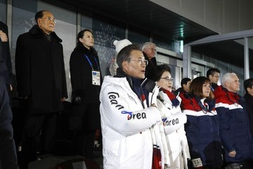 Mike Pence Moon Jae-In 2018 Winter Olympic Games - Opening Ceremony