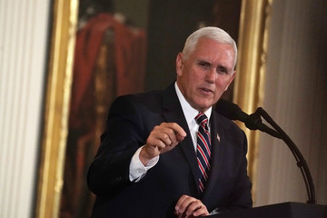 Mike Pence President Trump Speaks At White House  Prison Reform Summit