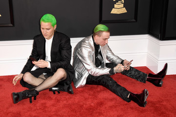 Mike Posner The 59th GRAMMY Awards - Arrivals
