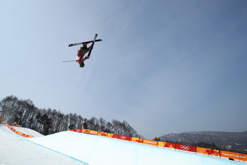 Mike Riddle Freestyle Skiing - Winter Olympics Day 11