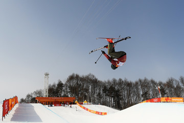 Mike Riddle Freestyle Skiing - Winter Olympics Day 9