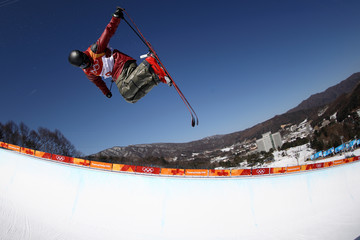 Mike Riddle Freestyle Skiing - Winter Olympics Day 8