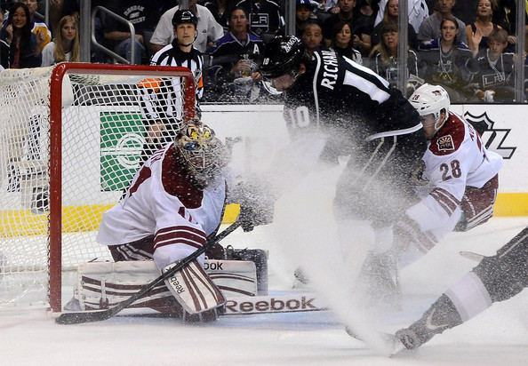 Mike Smith - Phoenix Coyotes v Los Angeles Kings - Game Four