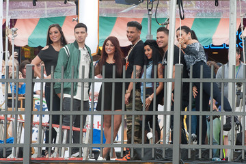 Mike Sorrentino Nicole Polizzi Fun Performs on 'The Today Show'
