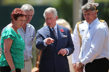 Mike Tate The Prince Of Wales And Duchess Of Cornwall Visit Australia - Day 3