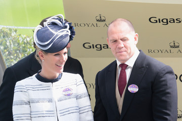 Mike Tindall Royal Ascot - Day 4