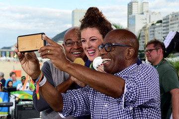 Mike Tirico The 'Today' Show Gallery of Olympians