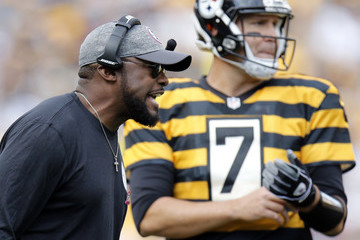Mike Tomlin New York Jets v Pittsburgh Steelers
