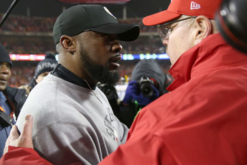 Mike Tomlin Divisional Round - Pittsburgh Steelers v Kansas City Chiefs